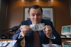 Di Caprio Wolf of Wall Street