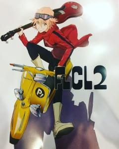 FLCL 2 poster