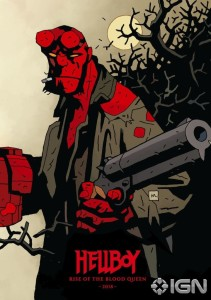 Hellboy Rise of the Blood Queen poster