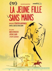 LA JEUNE FILLE SANS MAINS poster