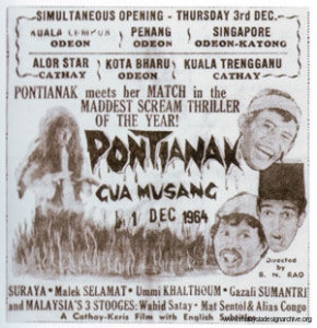 Malesia PONTIANAK GUA MUSANG POSTER