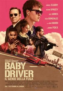 Poster Baby Driver - Il genio della fuga