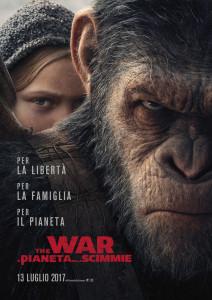 The War – Il Pianeta delle Scimmie poster