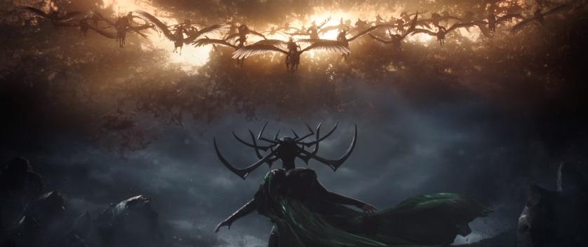 Hela sfida Asgard nel secondo trailer di Thor: Ragnarok