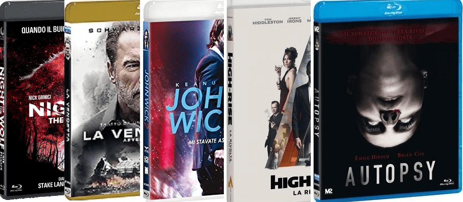 [recensione blu-ray] Autopsy - Aftermath - John Wick 2 - High-Rise - Night of the Wolf