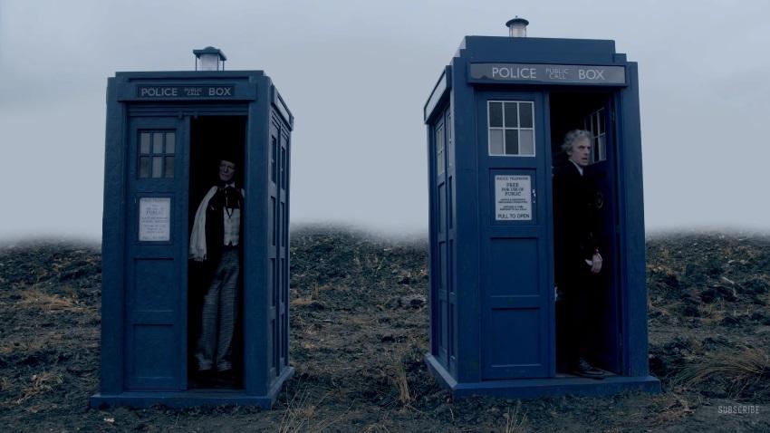 Due Dottori e un destino nel trailer dello speciale di Natale 2017 di Doctor Who
