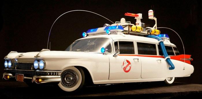 La Ecto-1 dei Ghostbusters non è mai stata così dettagliata
