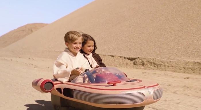 landspeeder di Star Wars