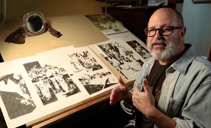 """Mike Mignola: """"L'Hellboy di Neil Marshall è molto fedele ai miei fumetti, più dei film di del Toro"""""""