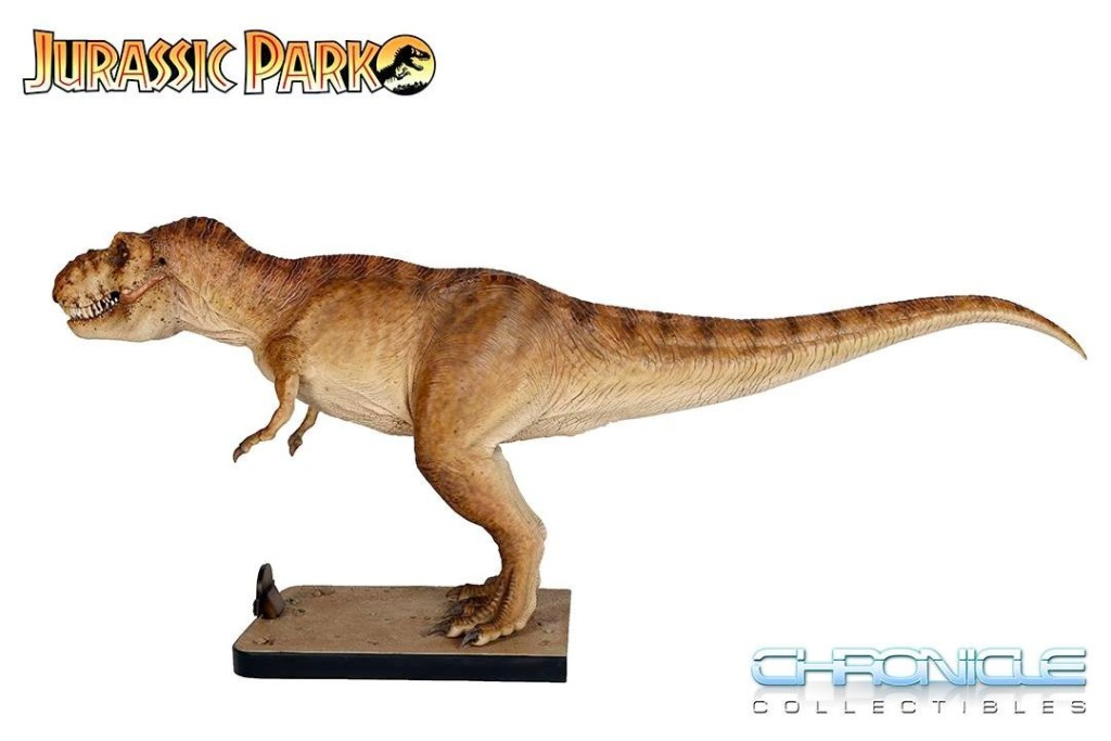 Jurassic t-rex Chronicle Collectibles