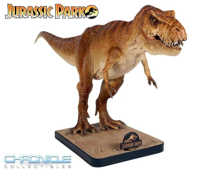 Jurassic t-rex Chronicle Collectibles 2