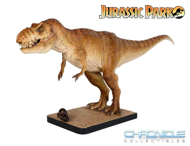 Jurassic t-rex Chronicle Collectibles 3