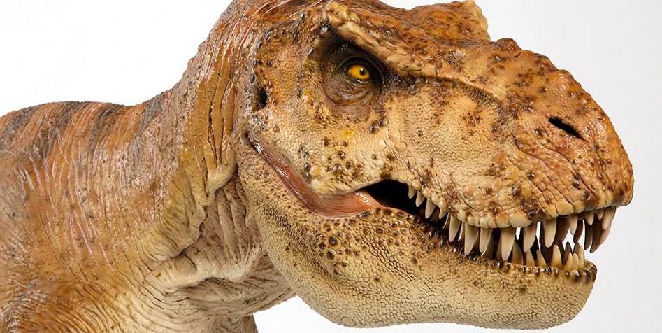 Fate spazio per la replica del T-Rex di Jurassic Park in scala 1:5