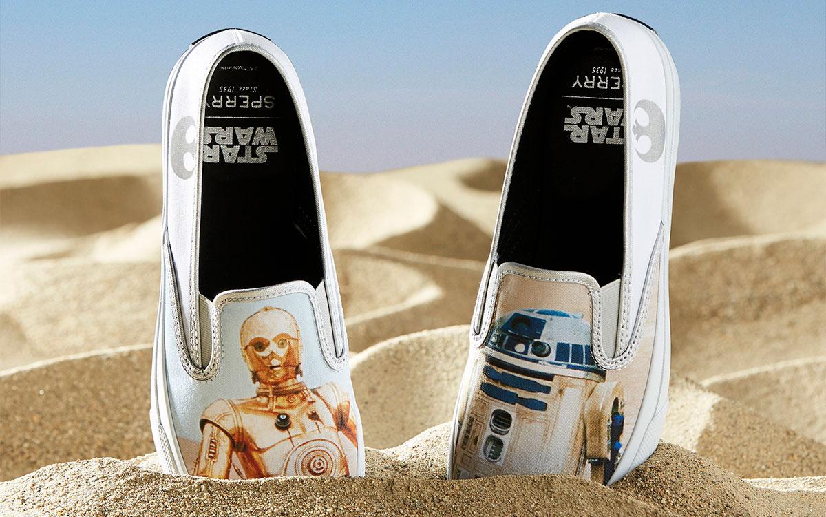 Sperry celebra i 40 anni di Una Nuova Speranza con 5 paia di scarpe dedicate ai protagonisti di Star Wars