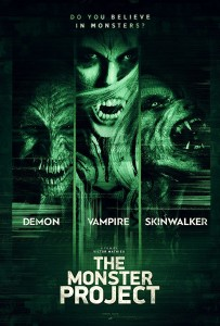 The Monster Project poster film