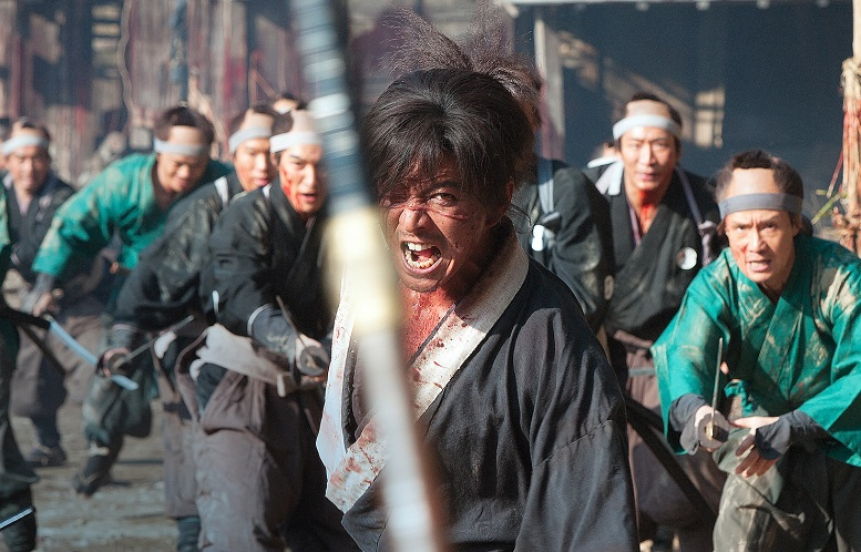 Brutale trailer V.M. 18 per Blade of the Immortal di Takashi Miike