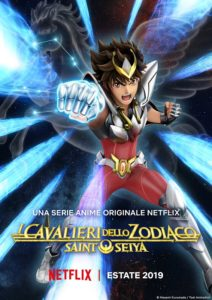 cavalieri dello zodiaco knight of the zodiac netflix poster