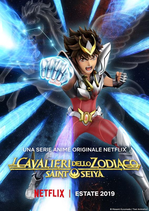 cavalieri dello zodiaco knight of the zodiac netflix poster