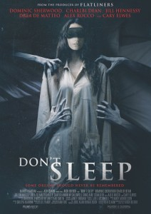 don't sleep film 2017 poster