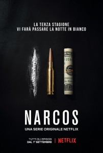 narcos 3 poster serie