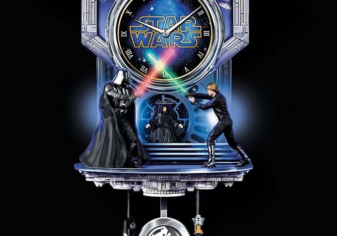 orologio star wars pendolo