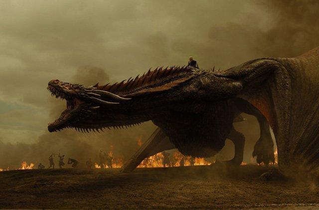 trono di spade drago