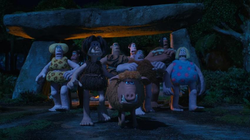 Conosciamo i buffi cavernicoli della Aardman nel full trailer di Early Man