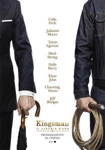 KINGSMAN - IL CERCHIO D'ORO poster