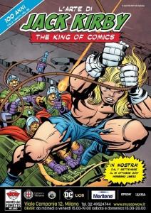 L'arte di Jack Kirby, the King of Comics wow poster