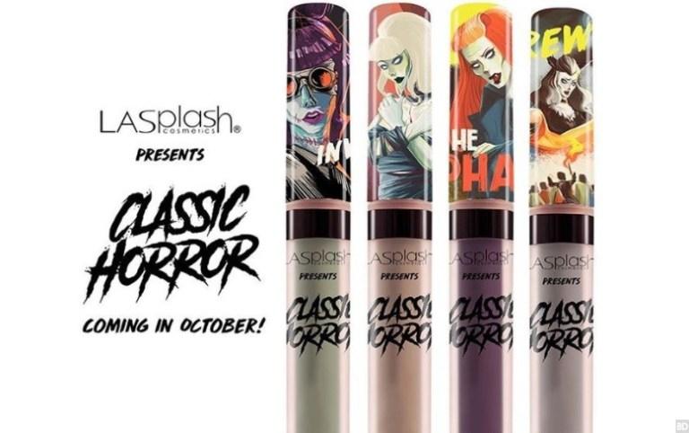 Labbra da Halloween coi rossetti ispirati ai Mostri Classici della Universal