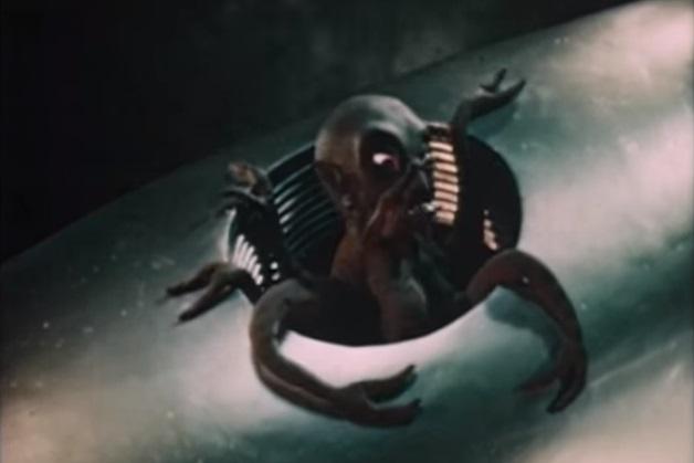 Ray Harryhausen immagina La Guerra dei Mondi in un test del 1949