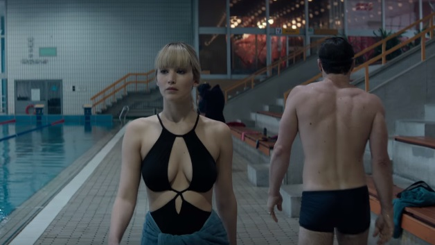Red sparrow film lawrence