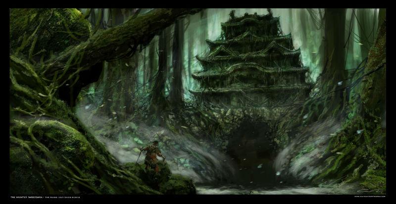 Prime immagini per The Haunted Swordsman, ghost story con samurai marionette