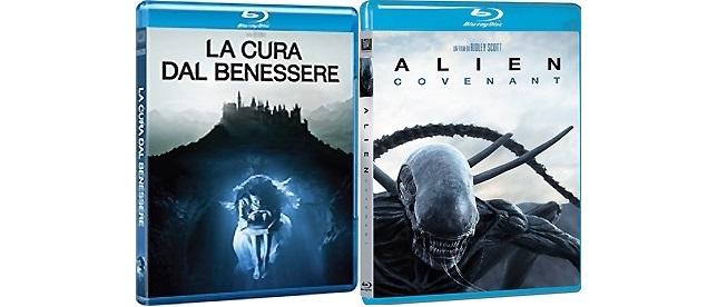 [recensione blu-ray] La cura dal benessere - Alien: Covenant