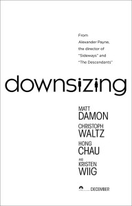 downsizing poster film
