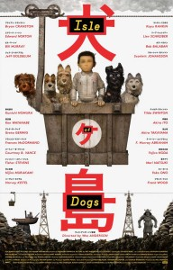 isle dogs poster