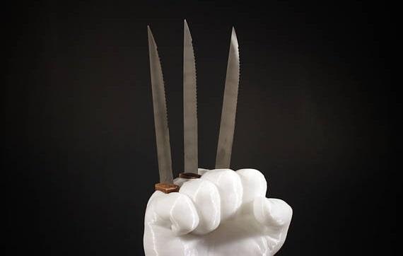 Con il portacoltelli 'di Wolverine' cucinare non fa più paura
