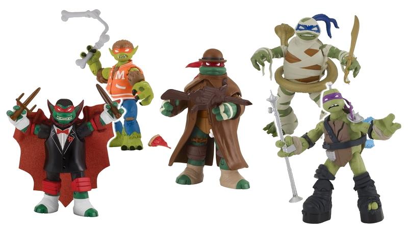 Le quattro tartarughe ninja diventano mostri nella nuova linea di