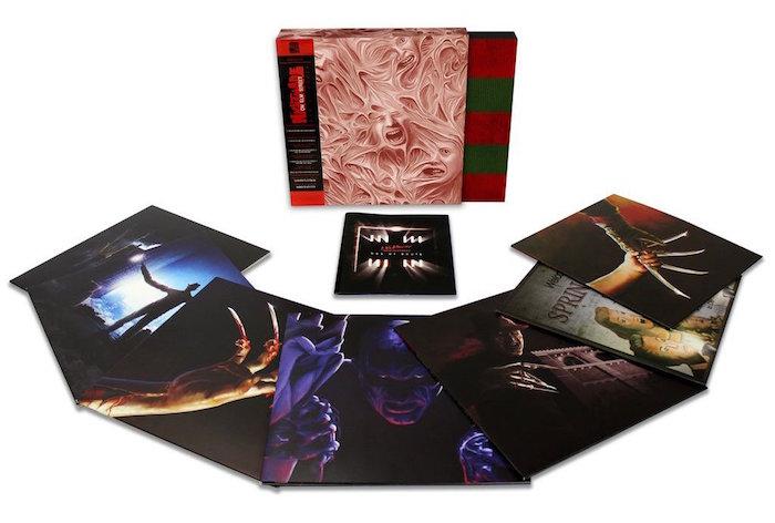 Il Box of Souls raccoglie i vinili delle soundtrack di tutti i film di Nightmare