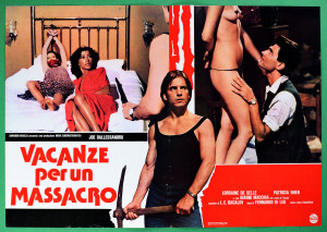 Madness, Vacanze per un massacro poster 2