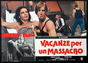 Madness, Vacanze per un massacro poster