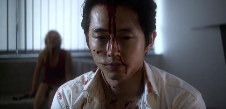 Il virus del trailer di Mayhem costringe Steven Yeun a sopravvivere a colpi di martello