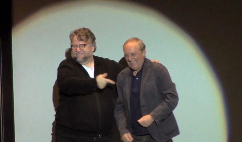 Guillermo del Toro parla di - e loda - Suspiria insieme a Dario Argento
