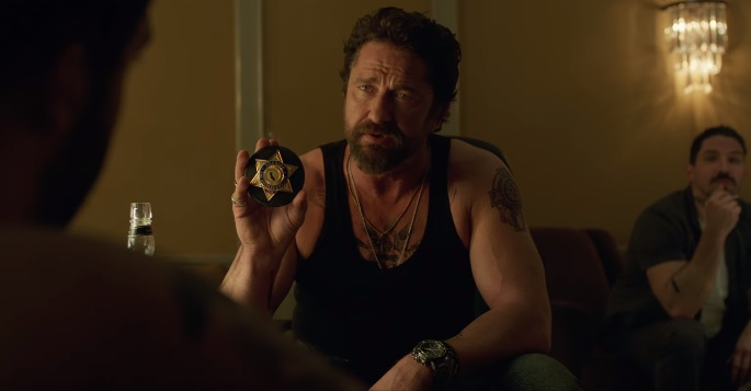 Gerard Butler detective corrotto nel trailer dell'heist movie Den of Thieves
