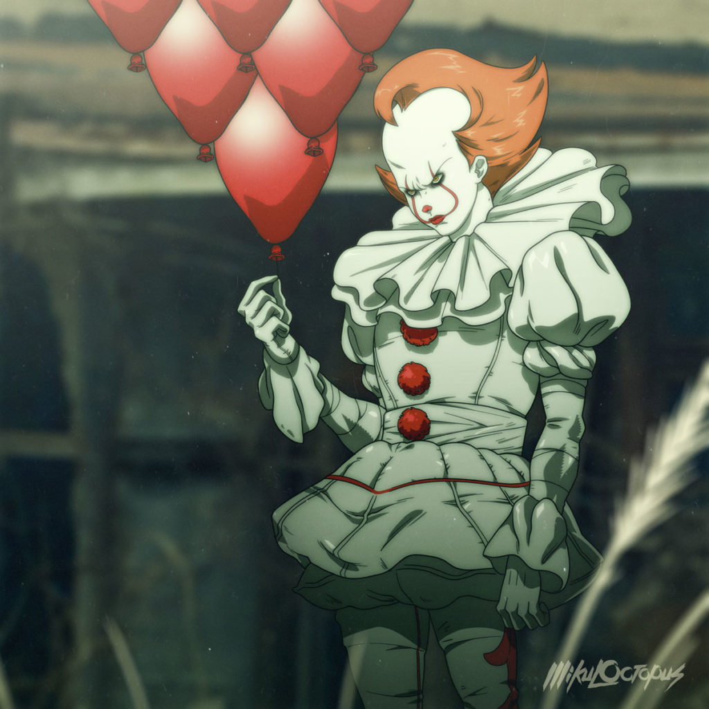 it pennywise anime 3