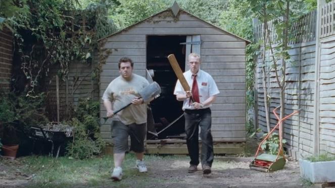 """Simon Pegg: """"Scritto per scherzo From Dusk Till Shaun, sequel di L'Alba dei Morti Dementi"""""""
