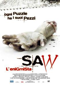 saw l'enigmista poster