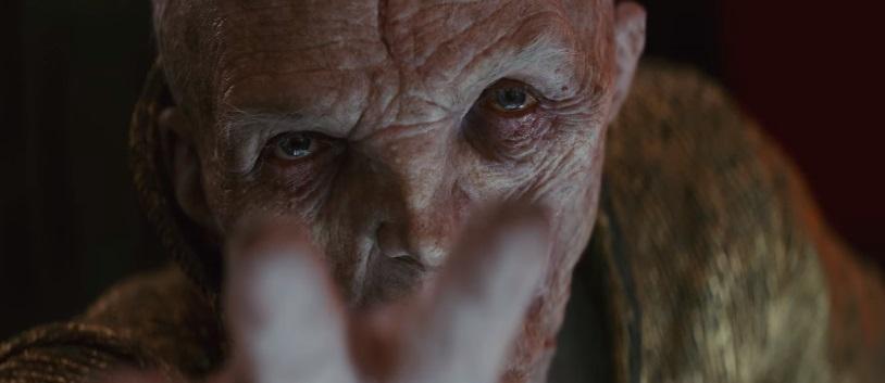 Snoke alza la voce nel secondo trailer italiano di Star Wars: Gli Ultimi Jedi
