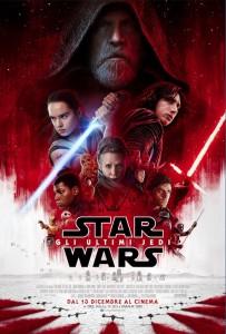 star wars ultimi jedi poster