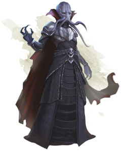 Dungeons & Dragons Mind Flayer